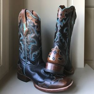 Lucchese Shoes - Resistol Ranch Boots by Lucchese Ladies 9.5B Black