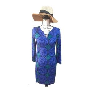 Hatley Dresses & Skirts - Hatley Blue and Green Pattern Dress (S/P)