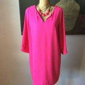 Hot Pink dress by Dalia