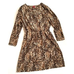 Merona Dresses & Skirts - Merona animal print dress - size M