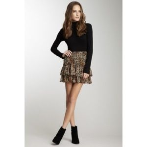Lucca Couture Dresses & Skirts - NWT Ruffle Leopard Print Mini🌟