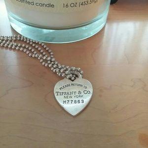 Tiffany dog tag necklace!