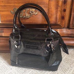 Longchamp Verni Patent Satchel
