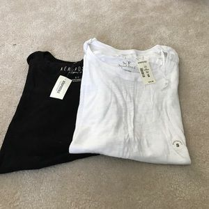 Brand new A bundle of short sleeve scoopneck tees
