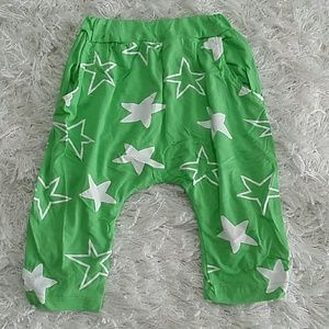 Other - Green Stars Harem pants. Kids