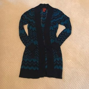 Missoni for Target Sweaters - Missoni for Target XS Navy & Blue long cardigan.