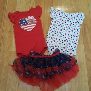Baby Starters Other - 4th of July 3 Month set