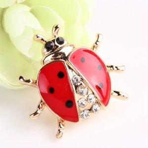 Jewelry - Lady Bug Brooch
