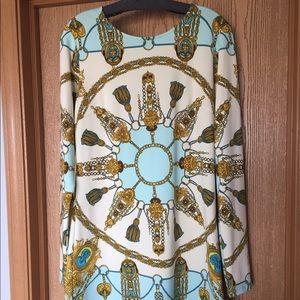 Julie Brown Dresses & Skirts - Multi-Print Dress, Size L
