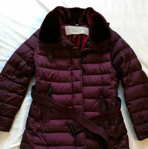 Burberry Brit womens Channel Quilted coat