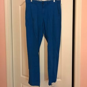Royal blue J. Crew pants