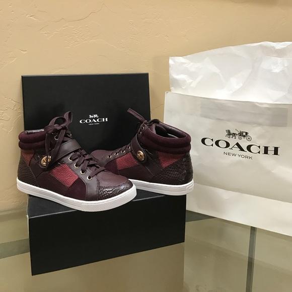 Coach Shoes | Coach Pembroke Patchwork
