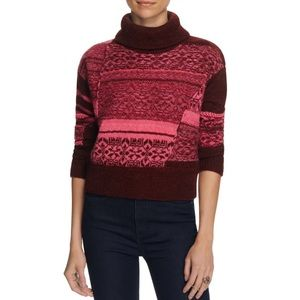 Free People This and That Mix Stitch Sweater