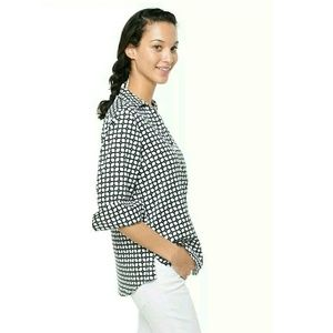 Foxcroft Tops - Reduced⬇New Foxcroft Wrinkle Free Shaped Grid Top