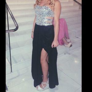 Sherri Hill Dresses & Skirts - Long diamond prom dress only worn once