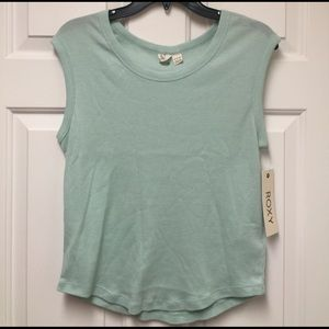 NWT Roxy Sunny Afternoon tee size XS