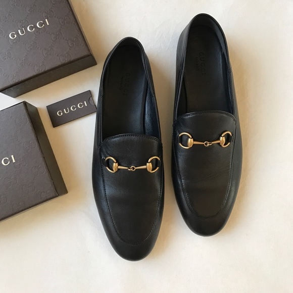 d269e2538588 Gucci Shoes - Gucci Brixton leather horse bit loafer