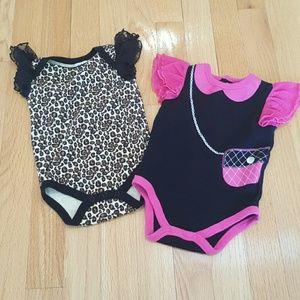 Baby Essentials Other - Baby Essentials Fashion Onesies