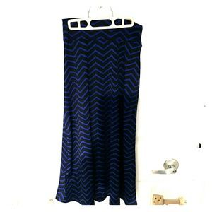 Amy Byer Other - Chevron Long Skirt