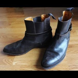 Vintage Brown Frye Ankle Boots (W9-9.5)
