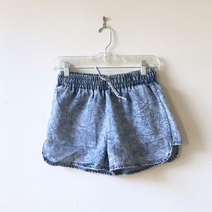 Lolo Jeans Pants - Distressed denim shorts