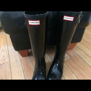 Hunter Boots Shoes - Classic tall Hunter rainboots