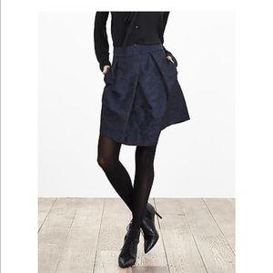 Navy blue camo skirt!