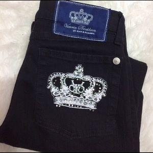 Victoria Beckham Denim - Rock & republic Victoria Beckham Crown Black Jeans