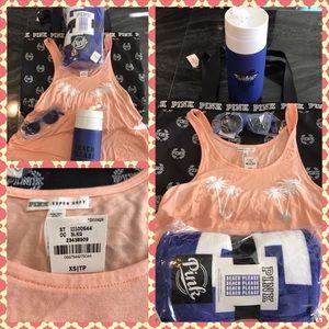 PINK Victoria's Secret Accessories - BNWT Pink Victoria'sSecret BEACH BUNDLE