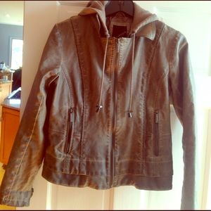 Collection B Jackets & Blazers - Woman's medium tan bomber jacket