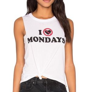 "SUPER CUTE ""I Hate Monday's"" T-shirt"