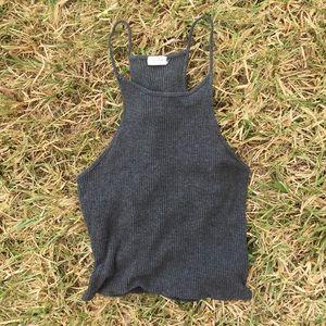 Brandy Melville Tops - John Galt Knit Crop Tank