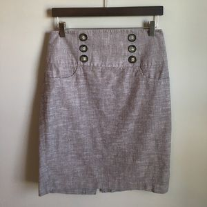 Iz Byer Dresses & Skirts - EUC | Grey Pencil Skirt