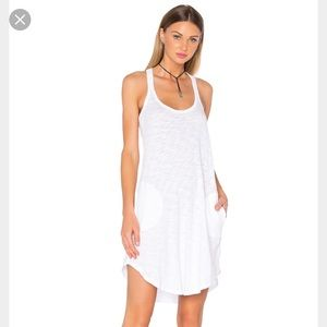 ATM Anthony Thomas Melillo Dresses & Skirts - ATM white trapeze, racerback tank dress.