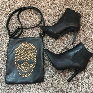 Breckelles Shoes - Heeled ankle booties