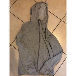 Nike Sweaters - Grey nike sweater