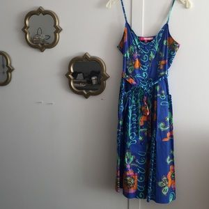 Plenty by Tracy Reese printed dress with pockets