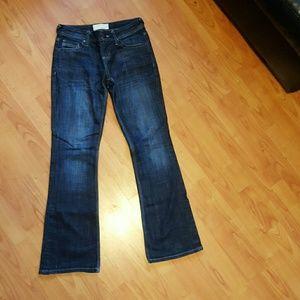 Maurices Denim - Maurices sz 1/2 shirt Morgan new boot dark jeans