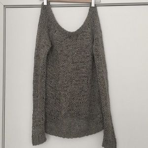 Club Monaco Off Shoulder Sweater