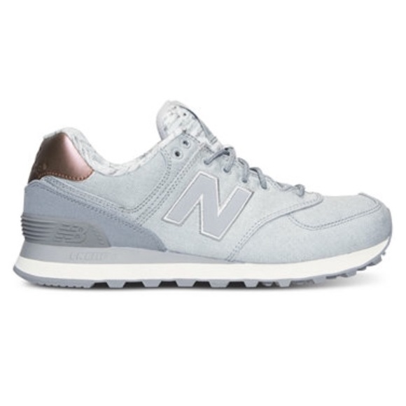 limited edition new balance 574 in rose gold