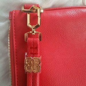 Kendra Scott Handbags - Kendra Scott Getaway Collection red clutch
