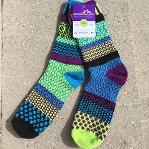 Solmate Socks Accessories - Solmate Socks Equinox Sz L Women 10-12; Men 9-11