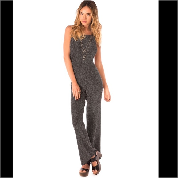 88bba1a8aa00 Sparkle Jumpsuit by Motel