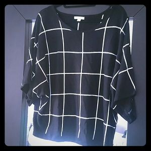 New York & Company Tops - New York & Company black and white top!