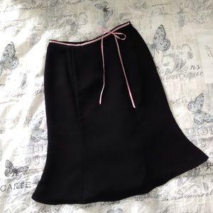 Mid-length Trumpet Skirt