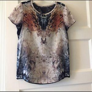 AllSaints silk top