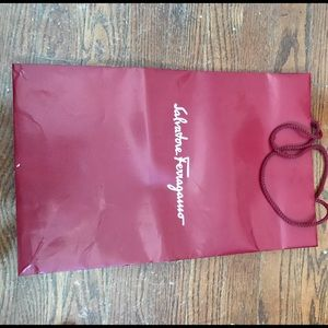 Ferragamo Handbags - Authentic Ferragamo shopping bag