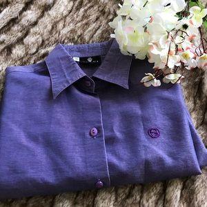 Gucci Tops - Beautiful Gucci work button up shirt