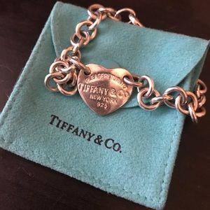 Tiffany & Co. Jewelry - Tiffany&Co Heart Bracelet