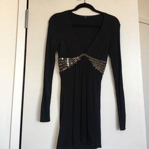 Gucci Tops - Gucci long black blouse